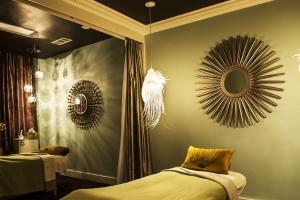 pure organic spa interior
