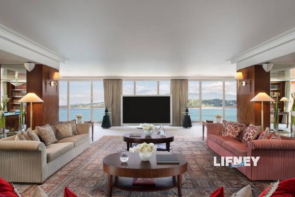 Royal Penthouse Suite – Hotel President Wilson, Geneva